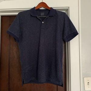 J crew slub polo. M. Like new.